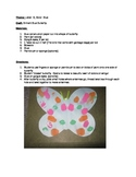 """The """"B"""" says """"buh"""": Lesson Plans/Butterfly Craft/Template/Songs/Activities!"""