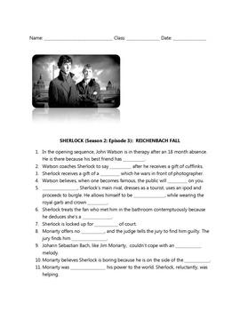 The BBC's Sherlock Viewing Guide: Reichenbach Fall