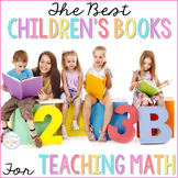 The BEST Children's Books for Teaching Math Guide