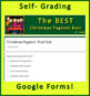 The Best Christmas Pageant Ever Print AND Paperless, Google AND Self-Grading