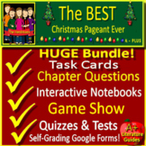 The Best Christmas Pageant Ever NOVEL STUDY: SELF-GRADING GOOGLE FORMS + GAME!