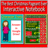 The BEST Christmas Pageant Ever Interactive Notebook  Paperless for Google Drive