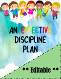 10+ BEST Classroom Management ideas/ Discipline Plan with