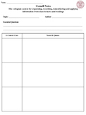 The BEST Cornell Notes Template