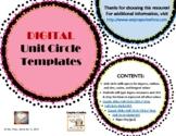 The BEST DIGITAL Unit Circle Template(s)