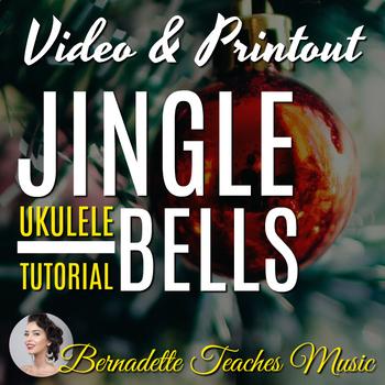 The BEST Easy Jingle Bells Ukulele Tutorial Video & PDF