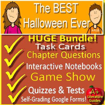The Best Halloween Ever Novel Study Unit