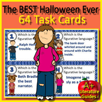 The Best Halloween Ever Novel Study Unit - Print AND Paperless Included!