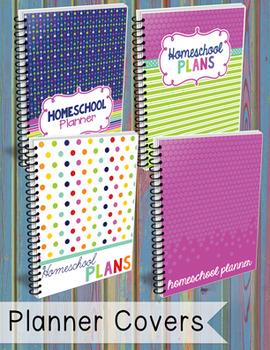 The BEST Homeschool Planner {bubblegum colors}