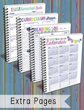 The BEST Homeschool Planner {bubblegum colors}