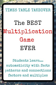 The BEST Multiplication Facts Game EVER!