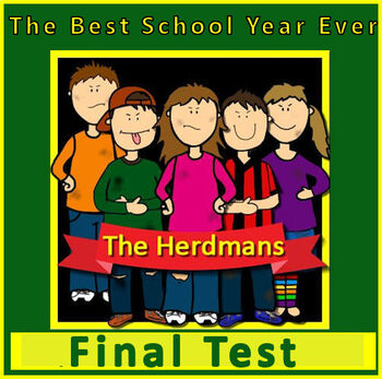 The BEST School Year Ever Test