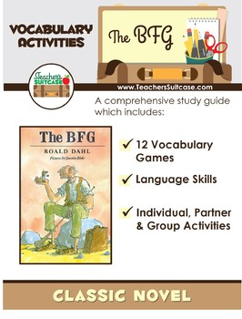 The BFG {12 FUN Vocabulary Games and Activities}