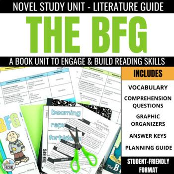 The BFG Foldable Novel Study Unit