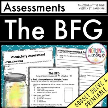 The BFG: Tests, Quizzes, Assessments