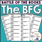 The BFG Battle of the Books Trivia Questions