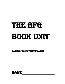 The BFG Book Unit