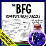The BFG Chapter Questions (BFG Comprehension Questions and Test)