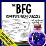 The BFG Chapter Questions (BFG Quizzes) BFG Comprehension