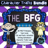 The BFG Character Traits Activities Bundle | The BFG Novel Study