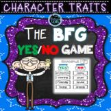 The BFG Character Traits Game   The BFG Novel Study