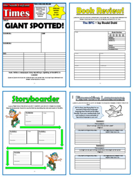 The BFG Comprehension Activities Booklet!