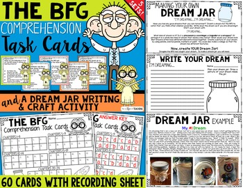 The BFG Comprehension Task Cards