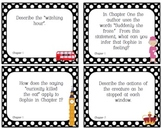 The BFG - Critical Thinking - Discussion Question Cards