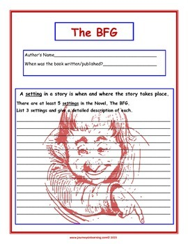 The BFG Culminating Activities