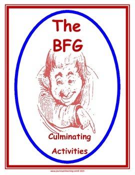 The BFG Culminating Activities