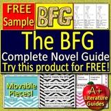 The BFG Novel Study - Free Sample!
