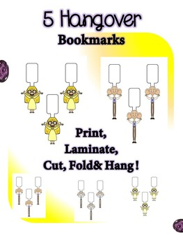 The BFG Hangover Bookmarks Freebie