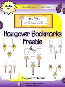 The BFG Hangover Bookmarks Freebie