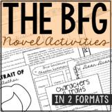 The BFG by Roald Dahl Interactive Notebook Novel Unit Stud