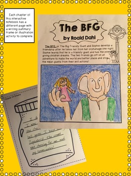 The BFG Interactive Reading and Writing for Special Education and Intervention