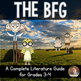 The BFG Lit. Guide/ Novel Study: Vocab, Comprehension, Reading Skills, Quizzes