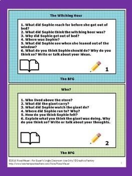 BFG Literacy Unit