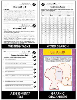 The BFG - Literature Kit Gr. 3-4