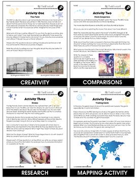 The BFG - Literature Kit Gr. 3-4 - BONUS WORKSHEETS