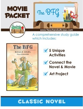 The BFG MEGA Pack {Includes 4 Whoopsy-Whiffling BFG Products}