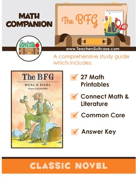The BFG Math Companion {27 Printables, Answer Key & Common Core}