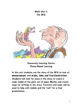 The BFG Math theme-based learning Unit