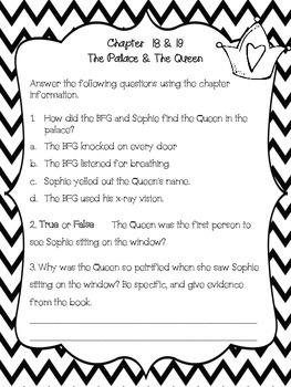 The BFG Novel Guide