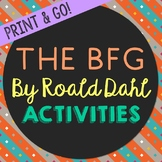 The BFG Novel Unit Study Activities, Book Companion Worksh