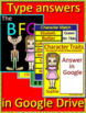 The BFG Google Novel Study Unit Use With OR Without Digital Google Drive