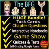 The BFG Novel Study Unit Print AND Paperless Google Ready w/ Self-grading Tests