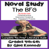 The BFG Novel Study & Enrichment Project Menu