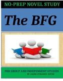 The BFG Novel Study Lesson Plans-Roald Dahl