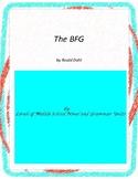 The BFG Literature and Grammar Unit