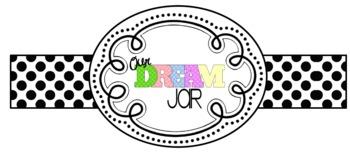 """The BFG """"Our Dream Jar"""" Label"""